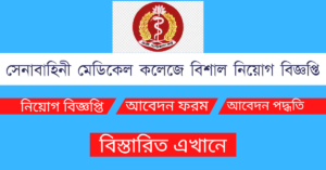 Read more about the article Armed Forces Medical College Job Circular 2021