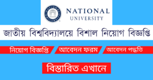 Read more about the article National University Job Circular 2021